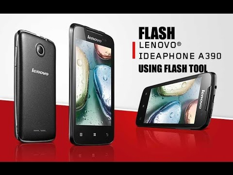 Flash lenovo A390 by tool