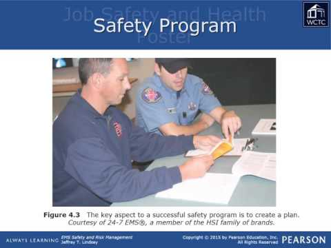 EMS Leadership & Management - Safety & Risk 4:  Developing a Safety Program
