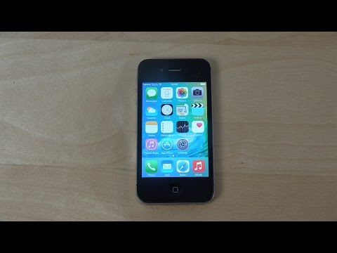 iPhone 4S iOS 9 Beta - Review (4K)