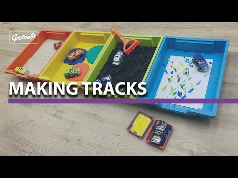 #WhatsInMyTray - Making Tracks with Toy Cars