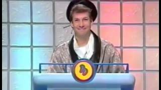 Marc Summers makes an odd joke on Double Dare