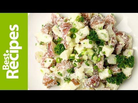3 Ingredient Potato Salad - BestRecipes with Drew Maresco