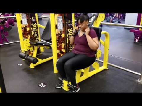 EBONY'S PLANET FITNESS WORKOUT FOR THE LADIES!