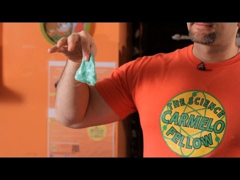 How to Make Silly Putty   Science Projects