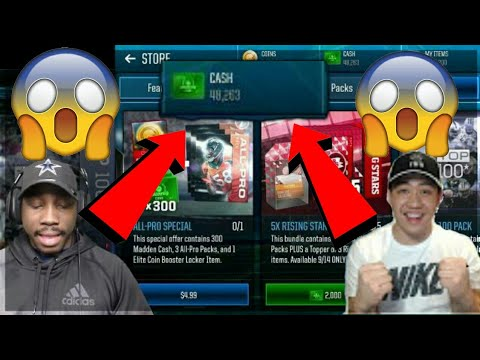 HOW TO GET MADDEN MOBILE CASH VERY FAST | MADDEN MOBILE 18