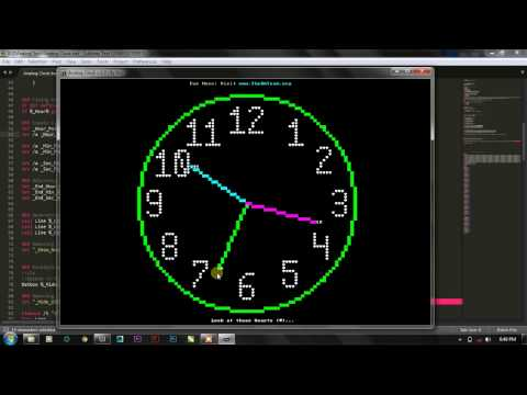 [Batch Project] How to create Analog Clock with Notepad?   The Analog Clock Project v.1.0 By Kvc