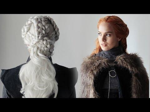 Game of Thrones Season 7 Hairstyles Tutorial! - KayleyMelissa