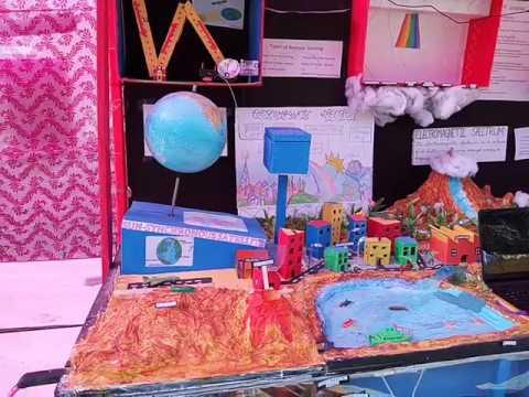 Remote Sensing Working Model by Rahul Kirdolia and Naveen Rana from DAV Centenary college faridabad