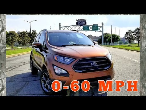 2018 Ford EcoSPORT SES 0-75 mph