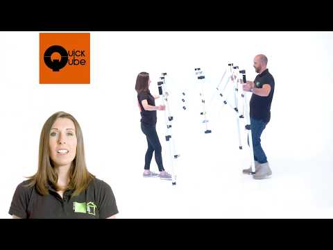 Green Qube: The Quick Qube Grow Tent Product Tour