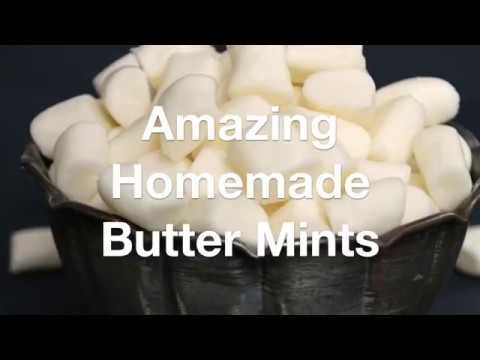 Amazing Homemade Butter Mints