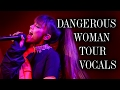 Ariana Grande NAILS her HIGHEST NOTES! - Dangerous Woman Tour -  (F#3 - G#5 - E6)