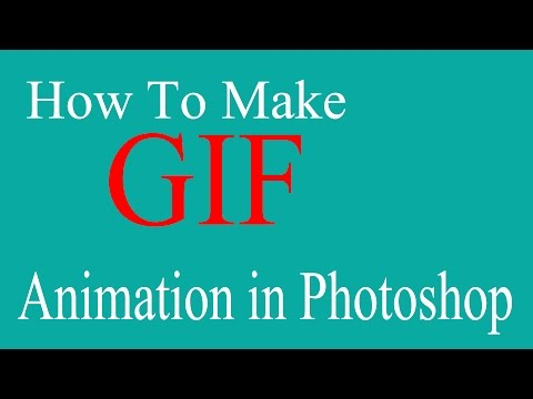 Photoshop :How to Make GIF Animation | Beginners | Tutorial Video HD