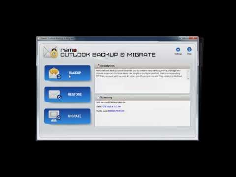 Tips to Backup and Restore Outlook Profile on Windows OS