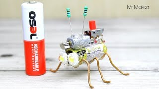 How to make simple robot - Mini Insect