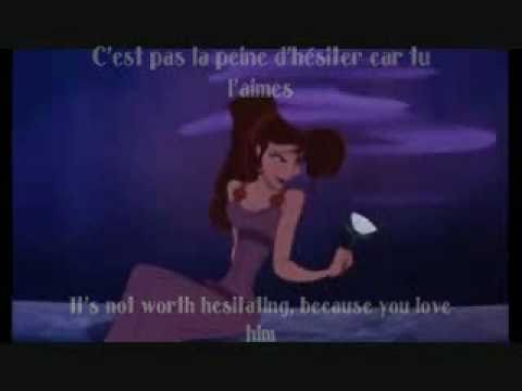 I Won't Say I'm in Love - French w/ subs and translation (