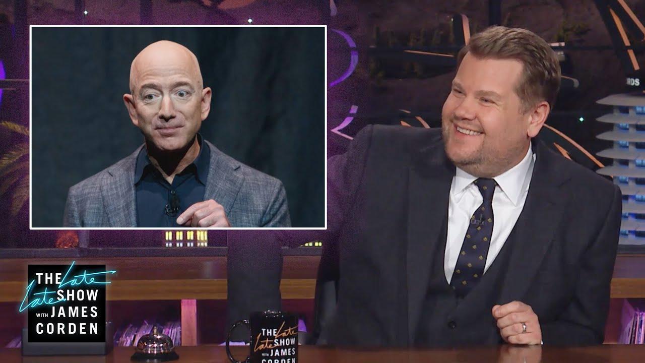 James Corden Has a Job Waiting for Jeff Bezos