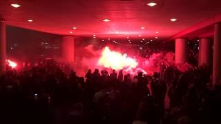AJAX - Feyenoord ( 3 - 1 ) 22-1-2014 : Entrada part 1
