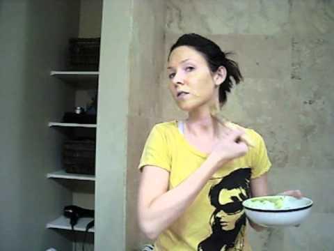 How to do a Homemade, all Natural Avocado and Jojoba oil facial.