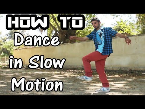 How to Dance in Slow Motion | Time Control Dubstep/Popping Dance tutorial