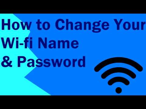 How to Change Your Wi-fi Name & Password (Specifically Virgin Superhub)