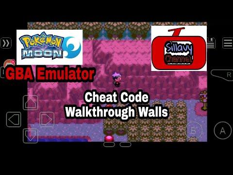 Chest Code Walk through walls Pokemon Moon GBA
