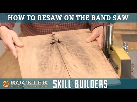 How to Resaw Lumber with a Band Saw | Rockler Skill Builders