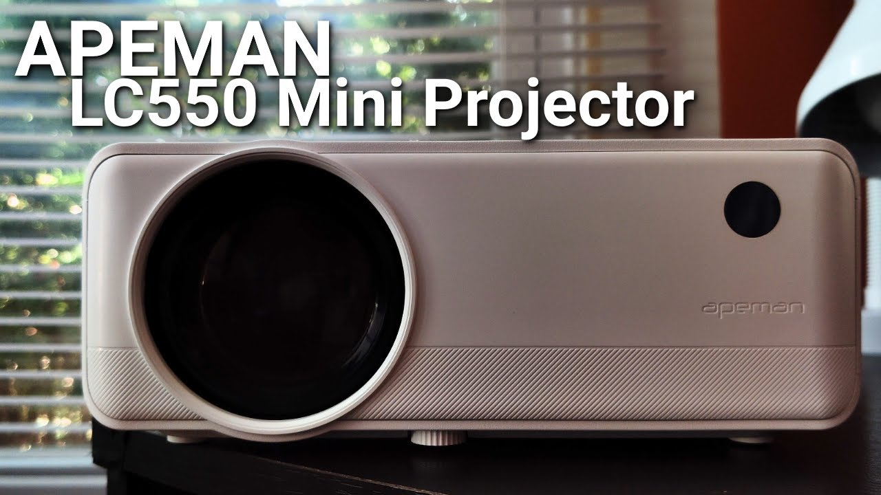 Download A $130 projector that's actually GOOD? | APEMAN LC550 Mini Projector Review MP3 Gratis