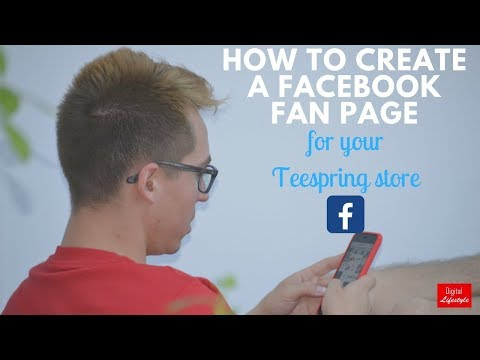Facebook fan page tutorial for your t-shirt business - teespring reviews