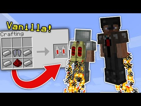 JETPACKS IN VANILLA MINECRAFT!!! - Command Block Creation (Pocket Edition, PS4, Xbox, Switch, PE)