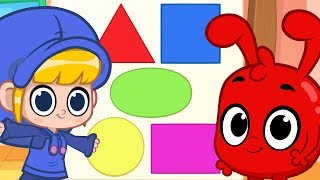 Learn Shapes with Morphle! Shapes, numbers and letters educational videos for kids! (HQ Update)