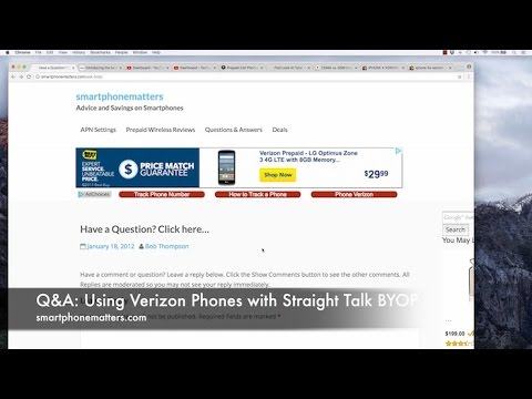 Q&A: Using Verizon Phones with Straight Talk BYOP