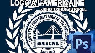 creer un logo a l'americaine