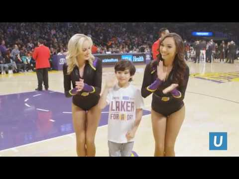 Gio: Laker For A Day I Team UCLA Lakers