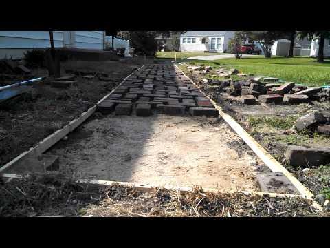 Cheap diy brick path update1