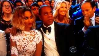 Beyoncé and Jay-Z ...Affection or Abuse??? 2014 Grammy Awards