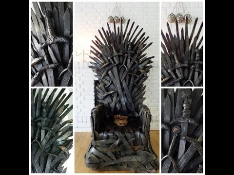 HOW TO BUILD YOUR OWN IRON THRONE ! :D