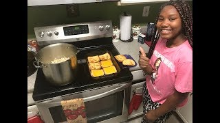 Cooking 101 with IamTrinityTaylor(home made chicken noodle soup)