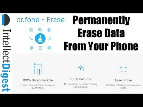 Permanently Erase All Data From Smartphone (Android & iPhone) Before Selling or Trading It
