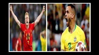 BRAZIL vs BELGIUM - WORLD CUP QF FULL MATCH REVIEW!! NO FOOTAGE