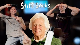 Rubbing one out in the First Lady's bathroom | Stiff Socks Podcast Ep. 29