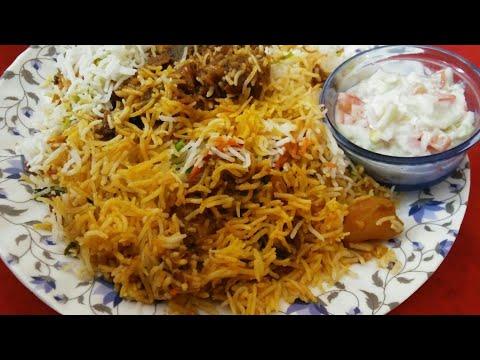 Mutton biryani l Mumbai style mutton biryani I How to make biryani