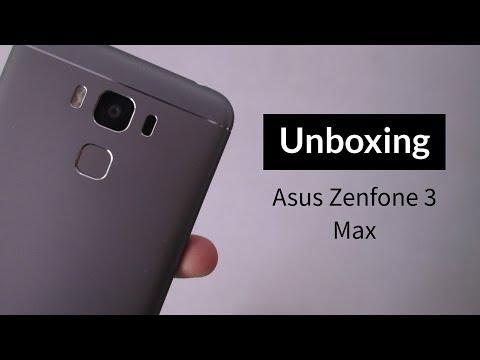 Unboxing Asus Zenfone 3 Max