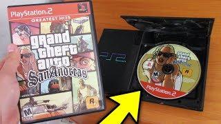 ASI ES JUGAR GTA SAN ANDREAS DE PS2 EN 2018!! Grand Theft Auto: SA