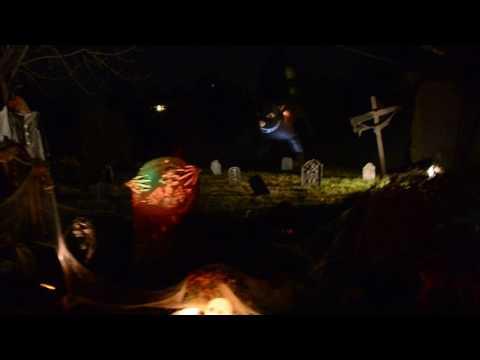 My scary halloween yard 2016