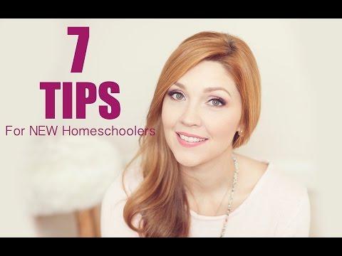 7 Tips for NEW Homeschoolers!