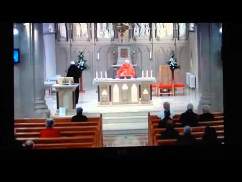 2016-02-06 Michael Noel Carty Sr - Mass Holy Trinity Church, Cookstown, Northern Ireland 1of2