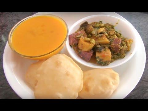 Undhiyu recipe by chefs Govindbhai & Sudhaben from Bhavna's kitchen