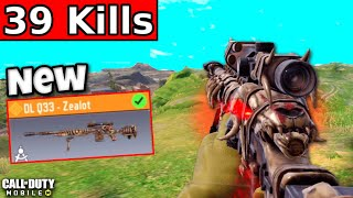 *NEW* DLQ-33 ZEALOT is INSANE in Battle Royale!! | CALL OF DUTY MOBILE | SQUADS VS SQUADS