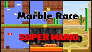 SUPER MARIO MARBLE ELIMINATION RACE